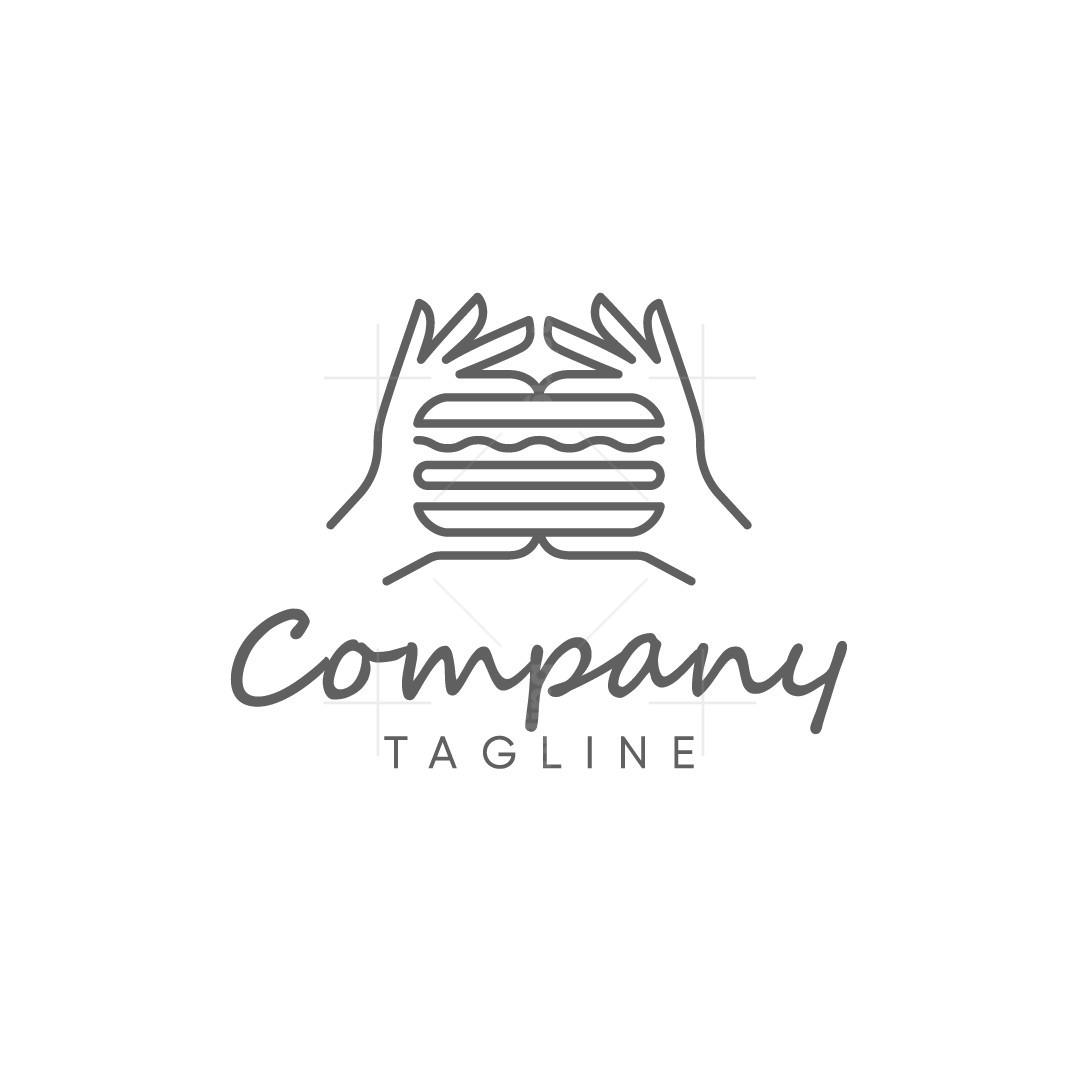 Hands Burger Logo