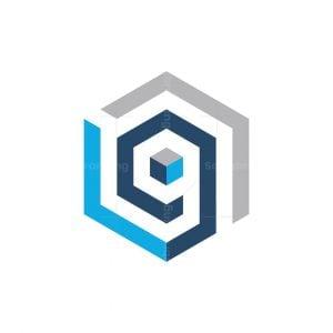 G Or 9 Cube Logo