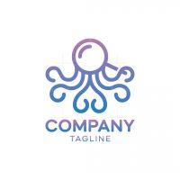 Magnifying Octopus Logo