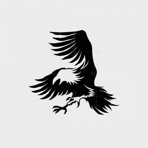 Attacking Crow Logo