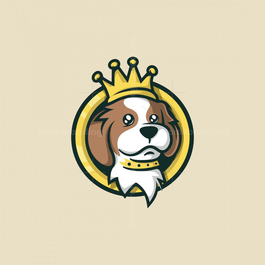 Royal King Dog Logo