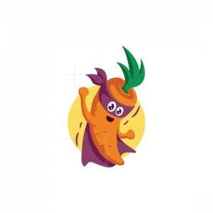Super Carrot Logo