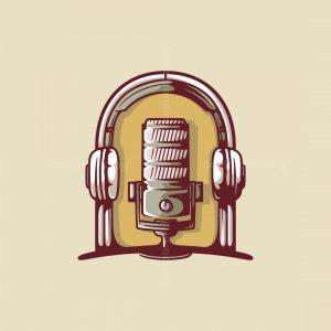 Vintage Podcast Logo