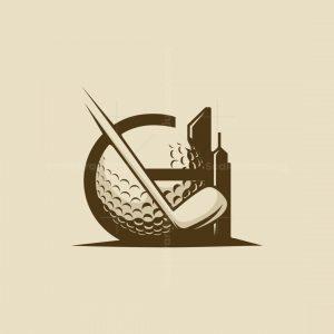 G Letter Golf Logo