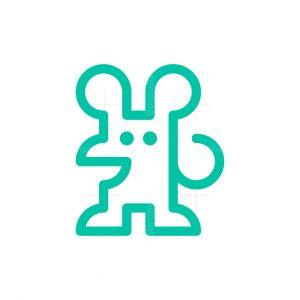 Puzzle Mouse Logo