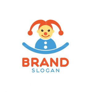 Clown Baby Logo