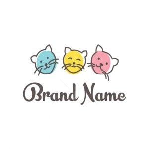 Three Cats Logo