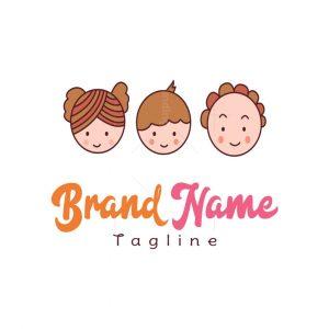 Three Kids Logo