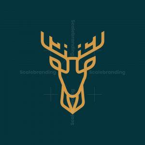 Monoline Deer Logo
