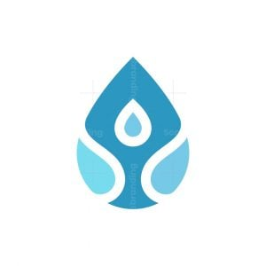Water Person Logo