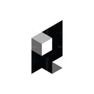 3d Isometric Q Logo