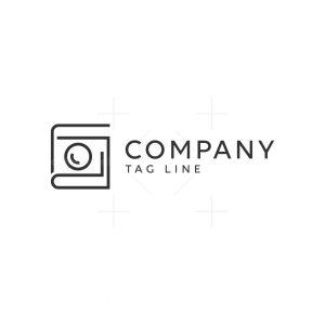 Book Photography Logo
