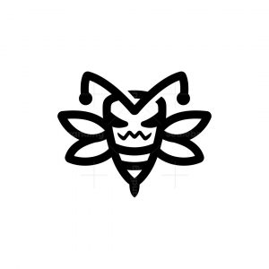 Angry Bee Logo