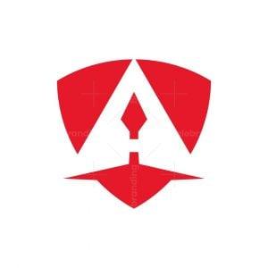 Arrows A Letter Logo