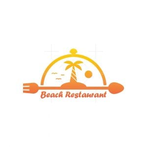 Beach Restaurant Logo