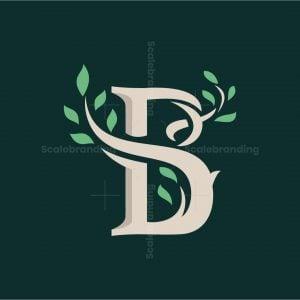 Beauty B Letter Tree Logo