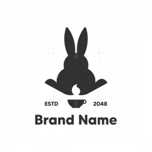 Black Rabbit Coffee Logo