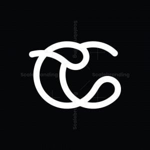 Cc Monogram With Drops Logo