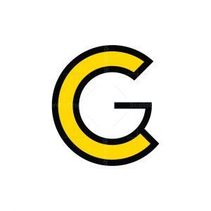 Cg Or Gc Monogram Logo