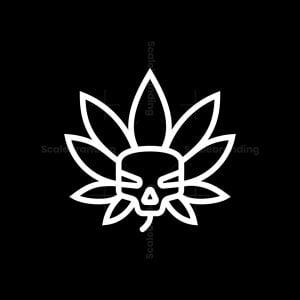 Cannabis Skull Logo