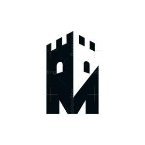 Castle M Letter Logo