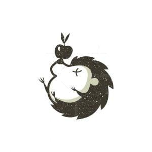 Cute Hedgehog Logo