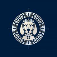 Ancient Dog Coin Logo