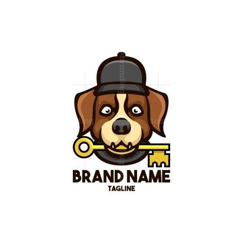 Dog Key Logo