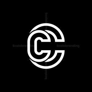 Double Cc Letter Logo