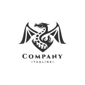 Dragon Flame Logo