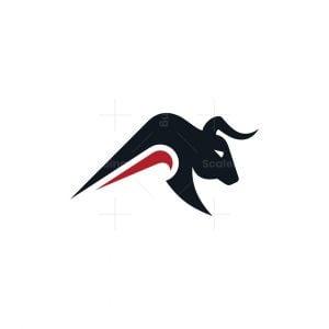 Dynamic Bull Logo