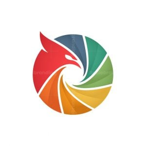 Colorful Eagle Lens Logo