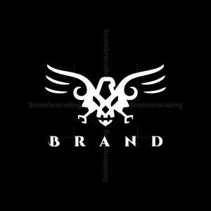 Eagle And Skull Logo