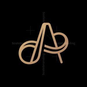 Elegant Infinity A Letter Logo