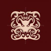 Fox Ornament Logo