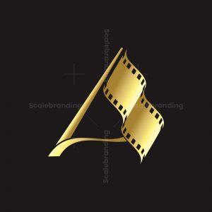Film A Letter Logo