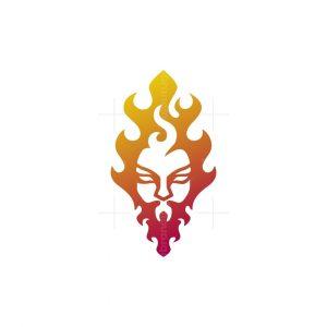 Fire Head Logo