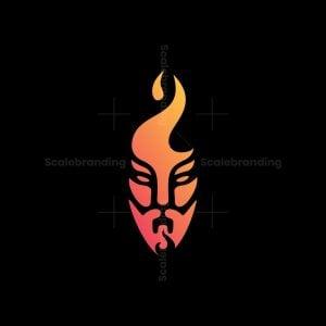 Fire Man Logo