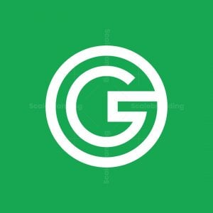Letter G Forming A Complete Circle Logo
