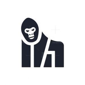 Geometric Gorilla Logo