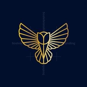 Golden Tulip Owl Logo