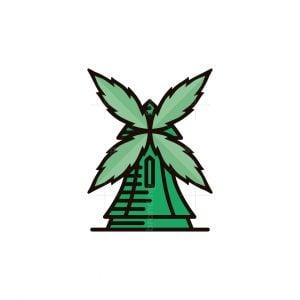 Green Windmill Logo