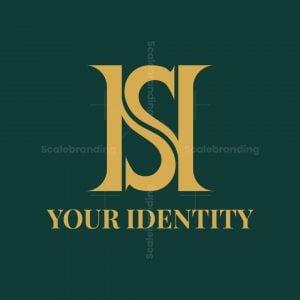 Luxury Hs Letter Logo