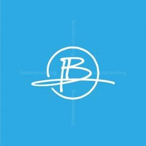 Handwritten B Logo