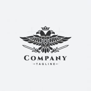 Heraldry Eagle Logo