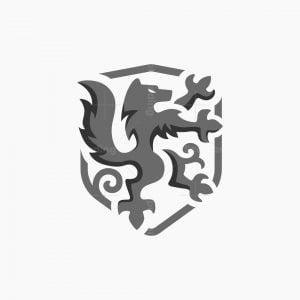 Heraldry Wolf Logo