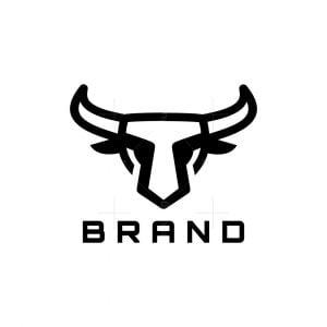 Iconic Bull Head Logo