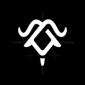 Iconic Goat Head Logo