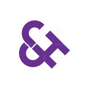 Jh Ampersand Monogram Logo