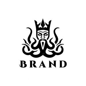 Kraken King Logo